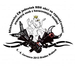 Logo Mistrovství ČR SDH ve vyprošťování